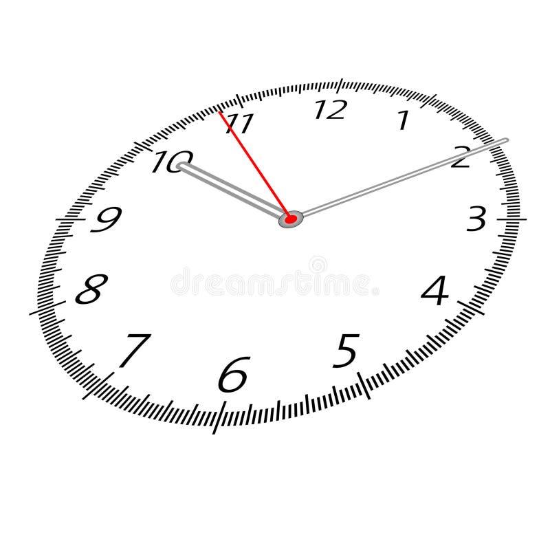 Illustration de temps illustration stock