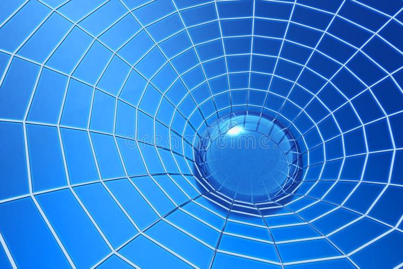 Illustration de toile d'araignée illustration libre de droits