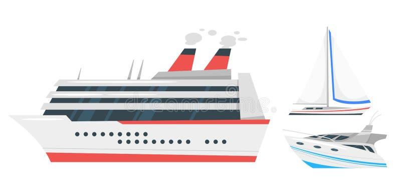 illustration de transport marin illustration libre de droits