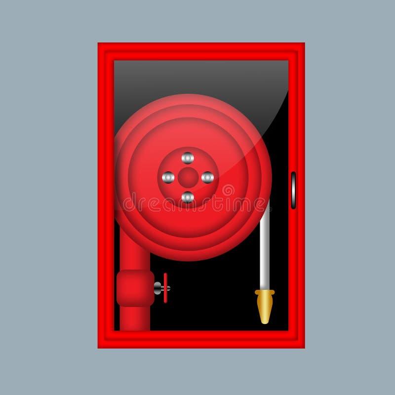 Illustration de tuyau d'incendie illustration stock