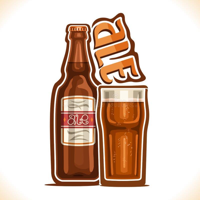 Illustration de vecteur de bière anglaise de boissons d'alcool illustration de vecteur