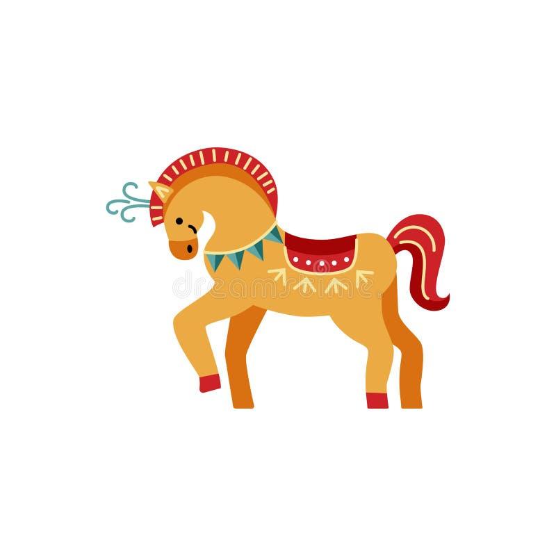 Illustration de vecteur de cheval de cirque illustration stock
