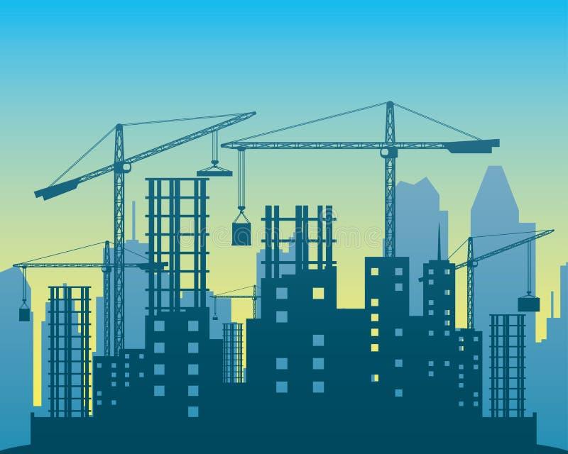 Illustration de vecteur construction illustration de vecteur