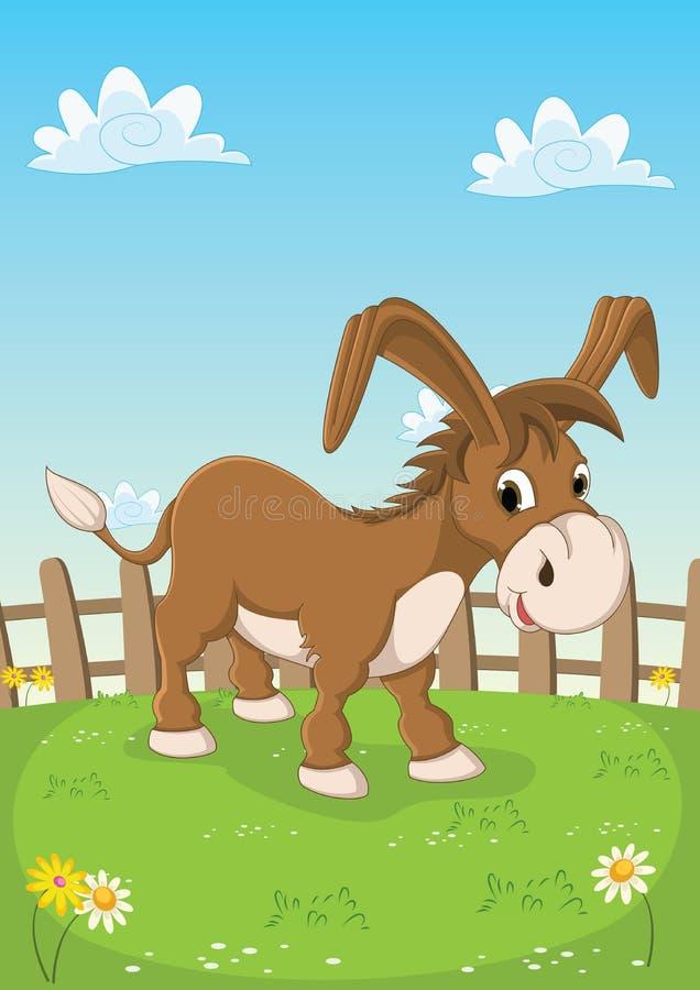 Illustration de vecteur d'âne illustration libre de droits