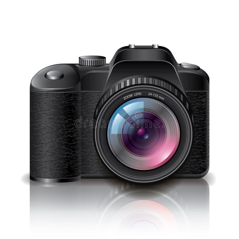 Illustration de vecteur d'appareil-photo de photo de Digital illustration libre de droits