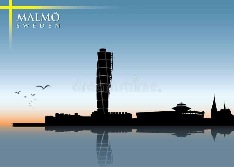 Horizon de Malmö illustration stock