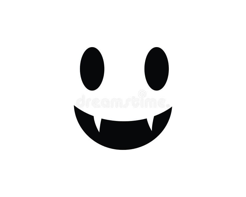Illustration de vecteur d'icônes de Ghost illustration libre de droits