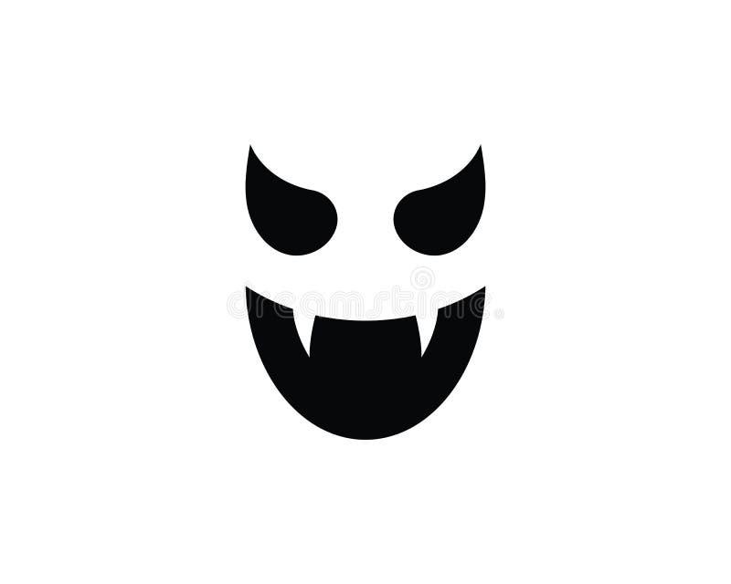 Illustration de vecteur d'icônes de Ghost illustration de vecteur