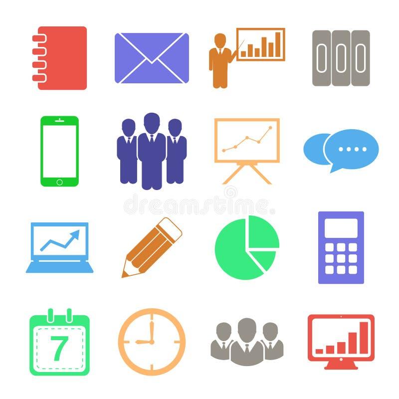 Illustration de vecteur d'icône d'affaires illustration de vecteur