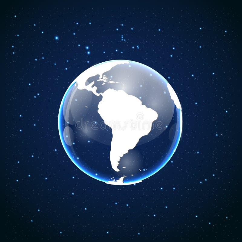 Illustration de vecteur d'icône de globe illustration de vecteur