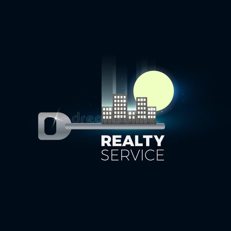 Illustration de vecteur d'objet immobilier illustration stock