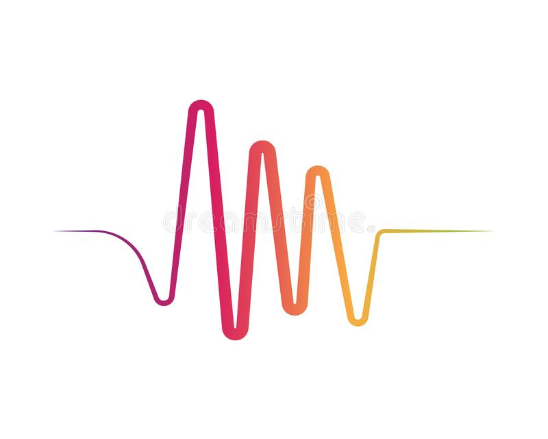 Illustration de vecteur d'ondes sonores illustration de vecteur