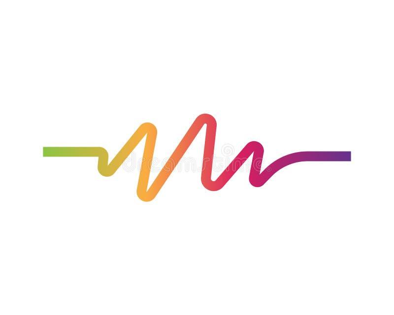Illustration de vecteur d'ondes sonores illustration stock