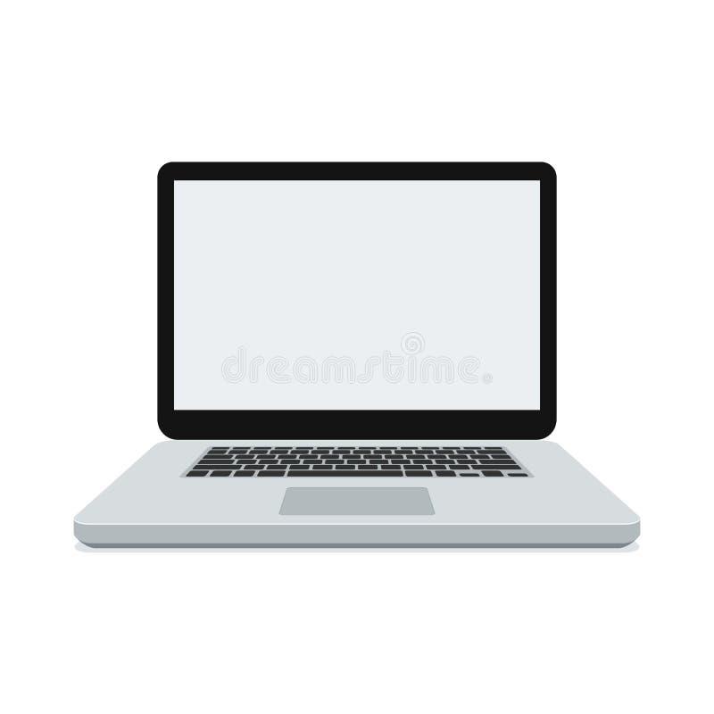 Illustration de vecteur d'ordinateur portable illustration stock
