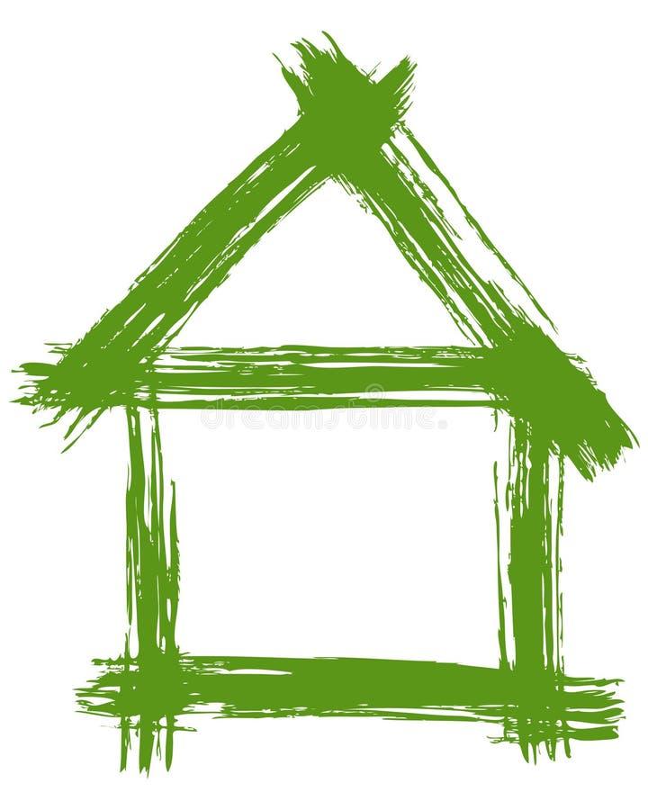 Illustration de vecteur d'un vert illustration libre de droits