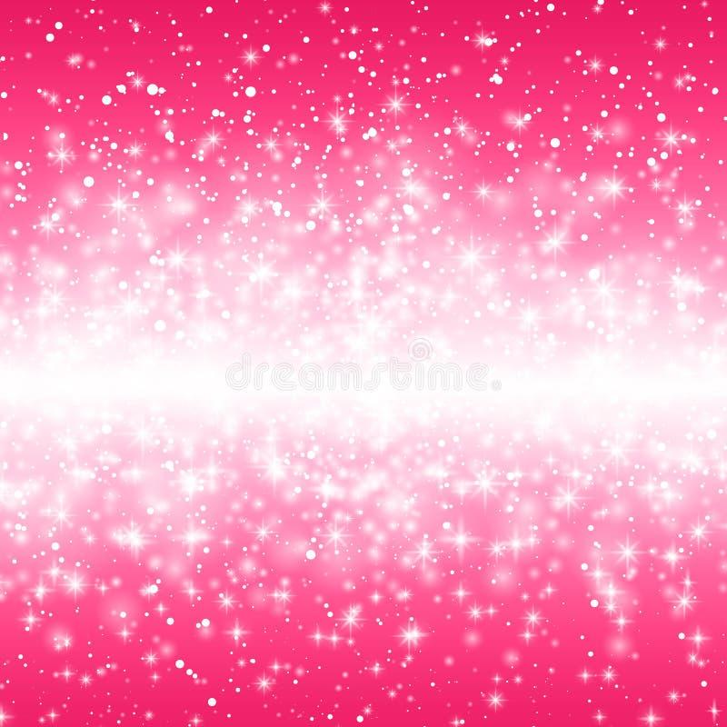 Illustration de vecteur d'une carte de jour de valentines La neige de effacement tiennent le premier rôle la ligne sur un fond ro illustration libre de droits