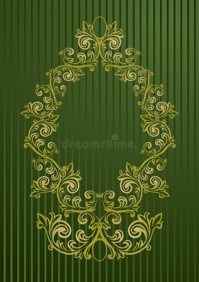 Illustration de vecteur d'une trame florale abstraite illustration de vecteur