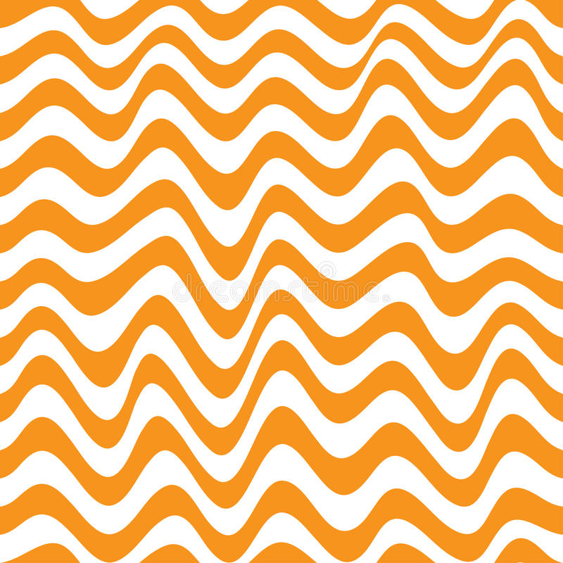 Illustration de vecteur d'une vague sans couture de modèle illustration de vecteur