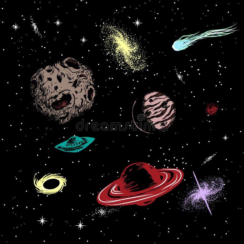 Illustration de vecteur d'univers illustration de vecteur