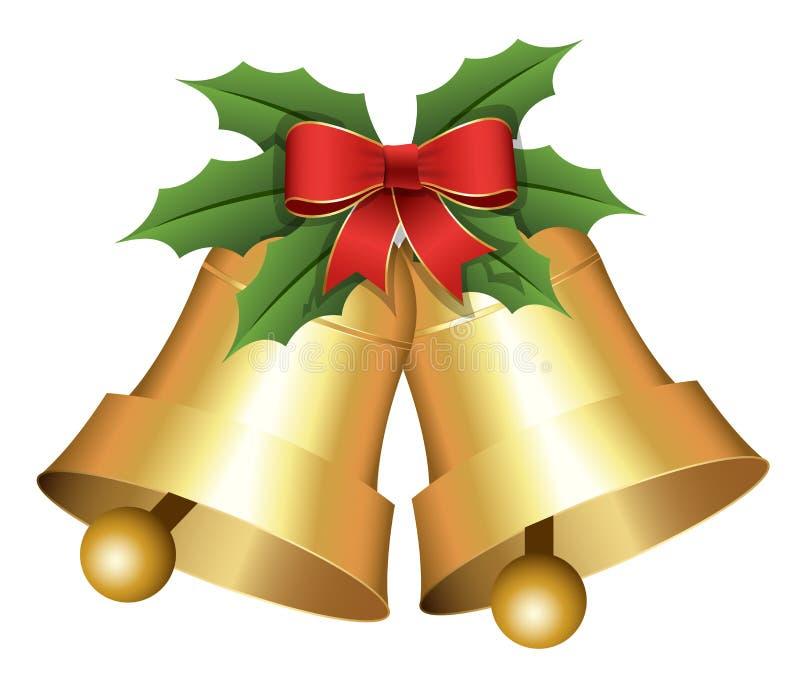 Illustration de vecteur de Bells de vacances de Noël illustration libre de droits