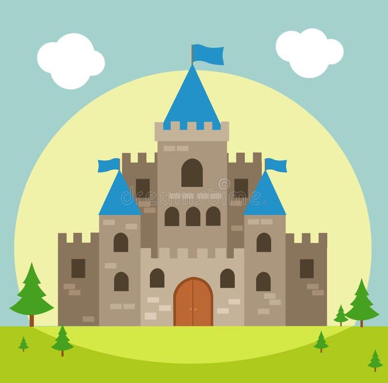 Illustration de vecteur de château illustration de vecteur