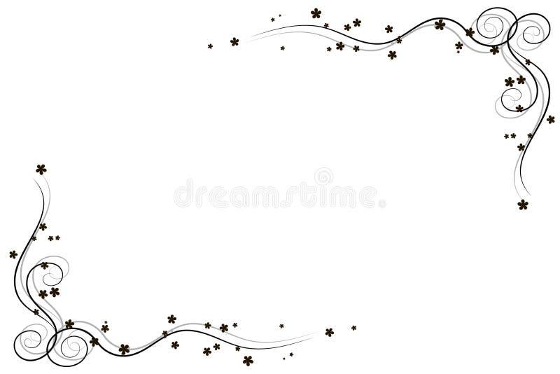 Illustration de vecteur de coin décoratif photographie stock