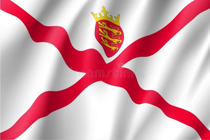 Illustration de vecteur de drapeau national de débardeur illustration libre de droits