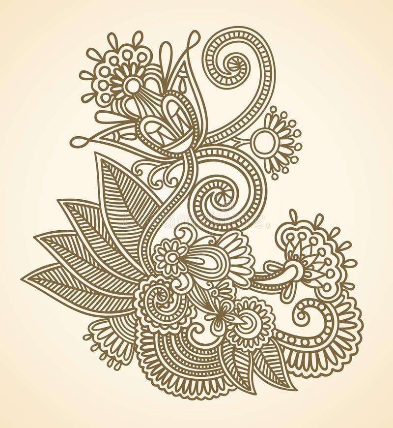 Illustration de vecteur de fleurs illustration stock