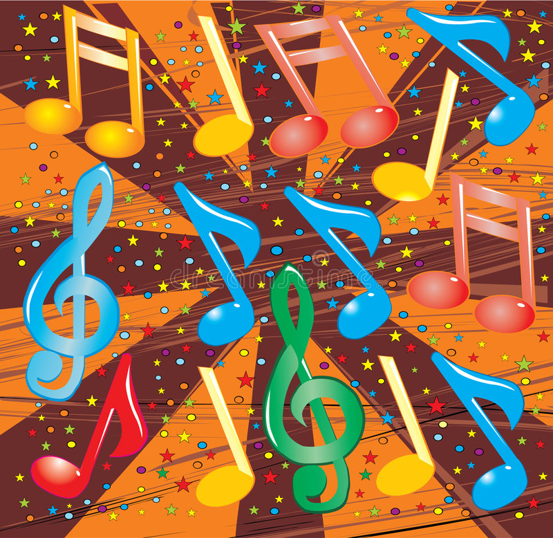 Illustration de vecteur de musical illustration stock