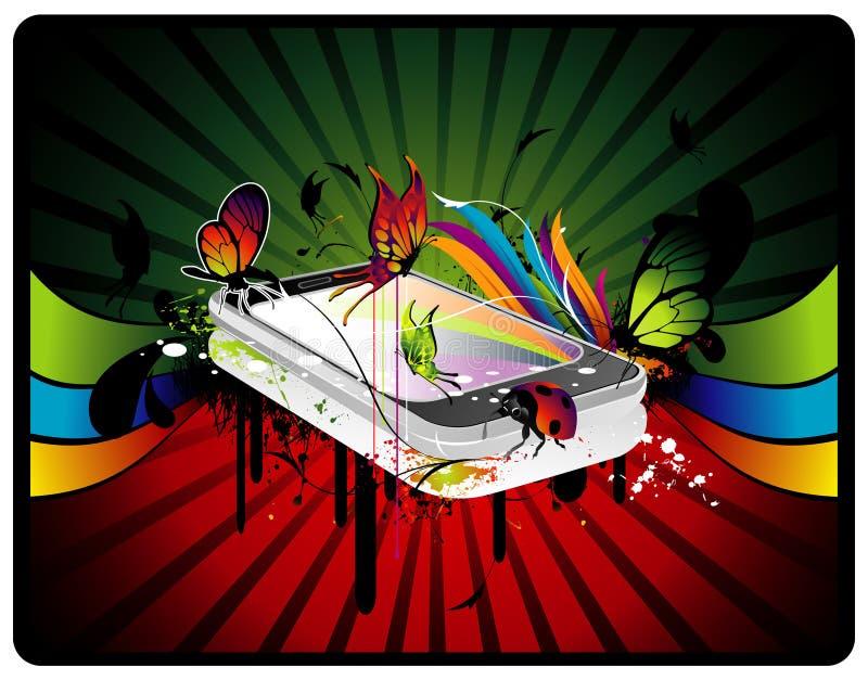 Illustration de vecteur de musique illustration stock