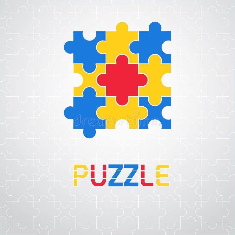 Illustration de vecteur de puzzle illustration de vecteur