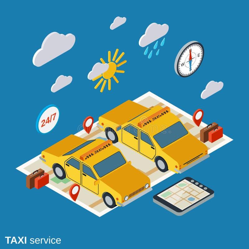 Download Illustration De Vecteur De Service De Taxi Illustration de Vecteur - Illustration du bagages, valise: 77161252