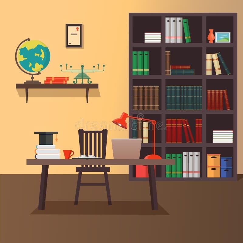 Illustration de vecteur de siège social moderne illustration de vecteur