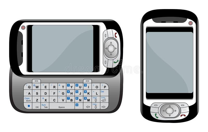 Illustration de vecteur de téléphone de PDA illustration libre de droits