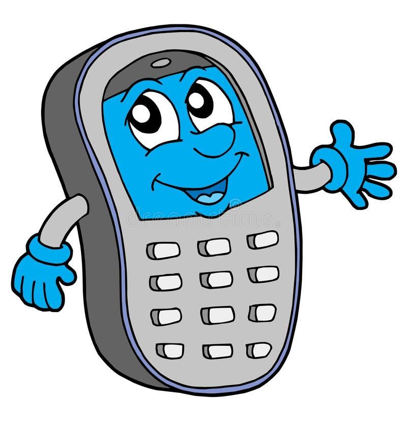 Illustration de vecteur de téléphone portable illustration de vecteur