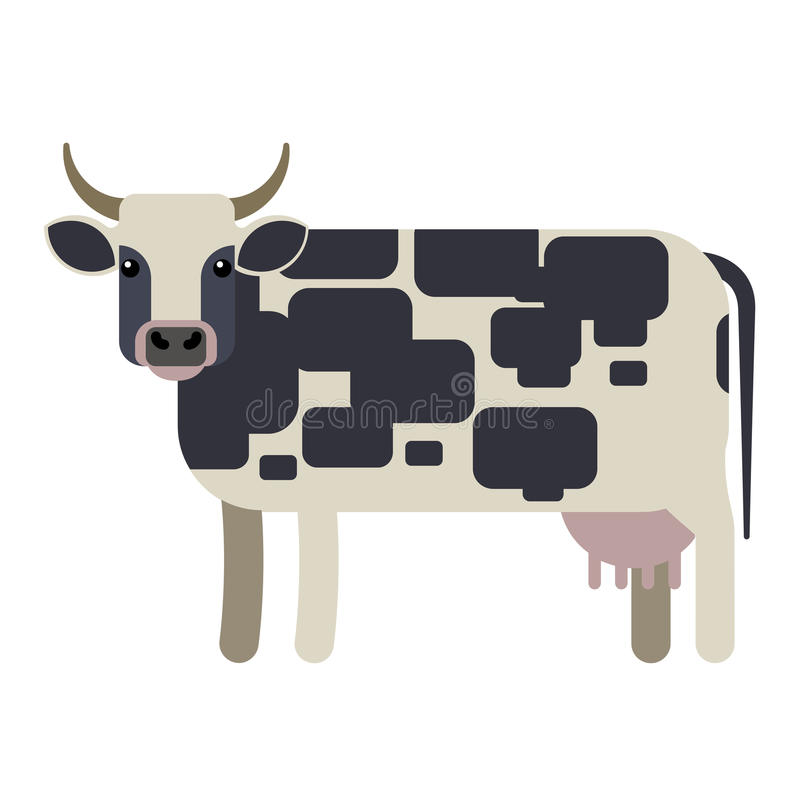 Illustration de vecteur de vache illustration stock