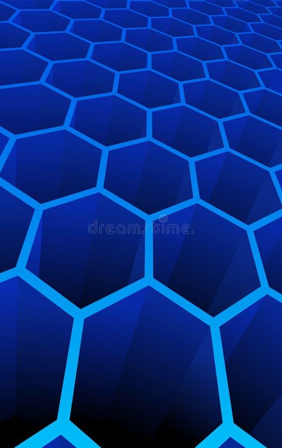 Illustration de vecteur des cellules 3d abstraites illustration de vecteur