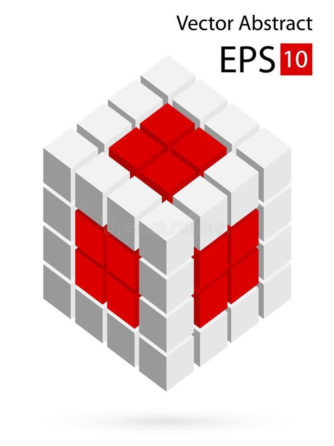 Illustration de vecteur des cubes 3d illustration de vecteur