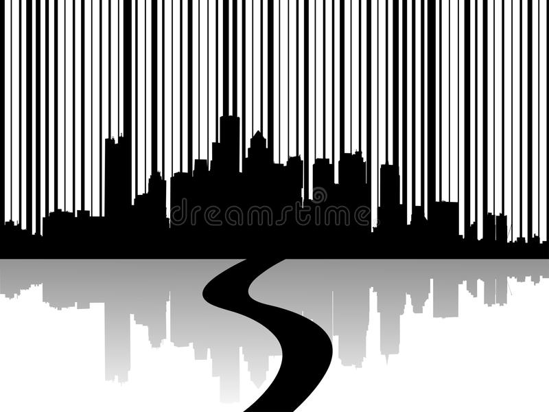 Illustration de vecteur des horizons urbains illustration de vecteur