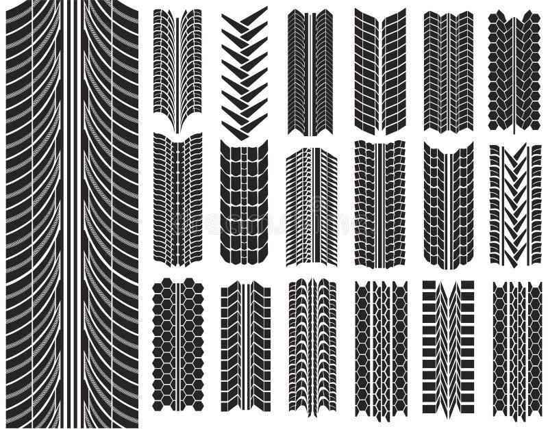 Illustration de vecteur des pneus illustration libre de droits