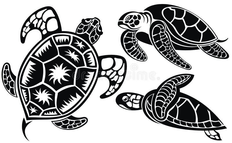 Illustration de vecteur des tortues illustration de vecteur