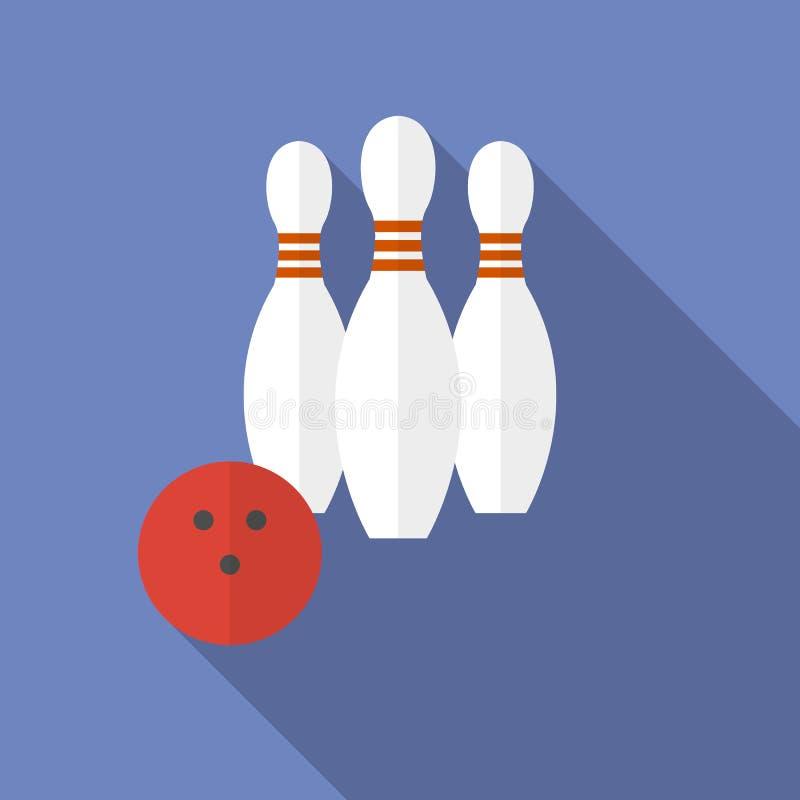 Illustration de vecteur du bowling image libre de droits
