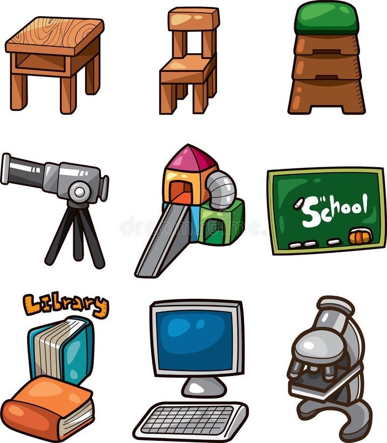 Illustration de vecteur - graphisme de Web d'éducation illustration stock
