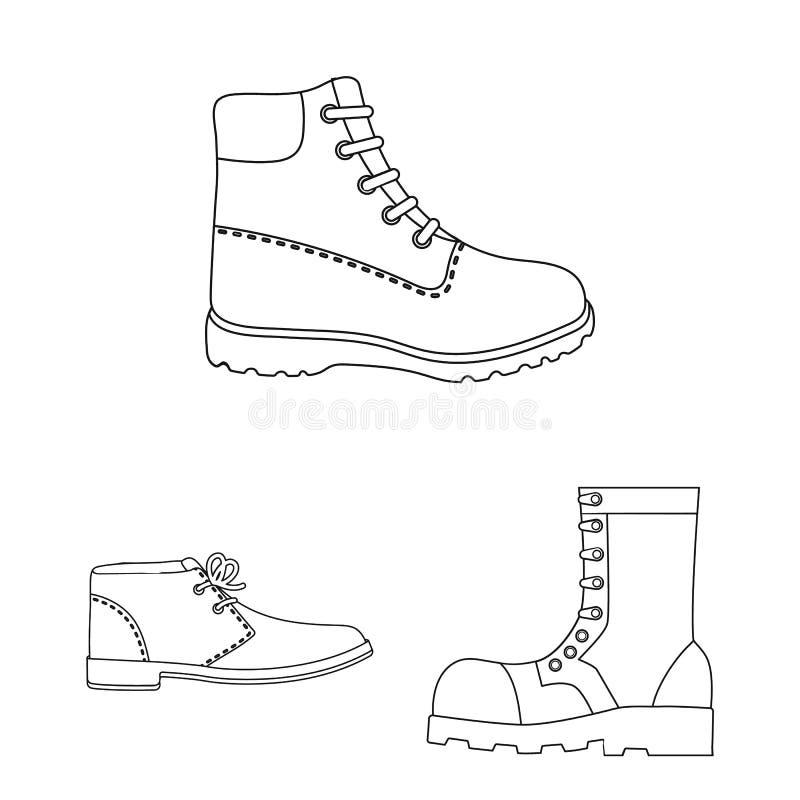Illustration de vecteur de l'icône en cuir et occasionnelle Placez du symbole boursier en cuir et formel pour le Web illustration libre de droits