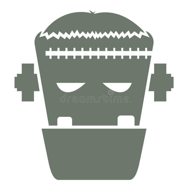 Illustration de vecteur de la tête du Frankenstein character2 photo stock