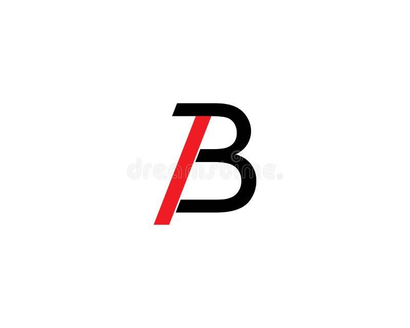 Illustration de vecteur de lettre de B illustration de vecteur