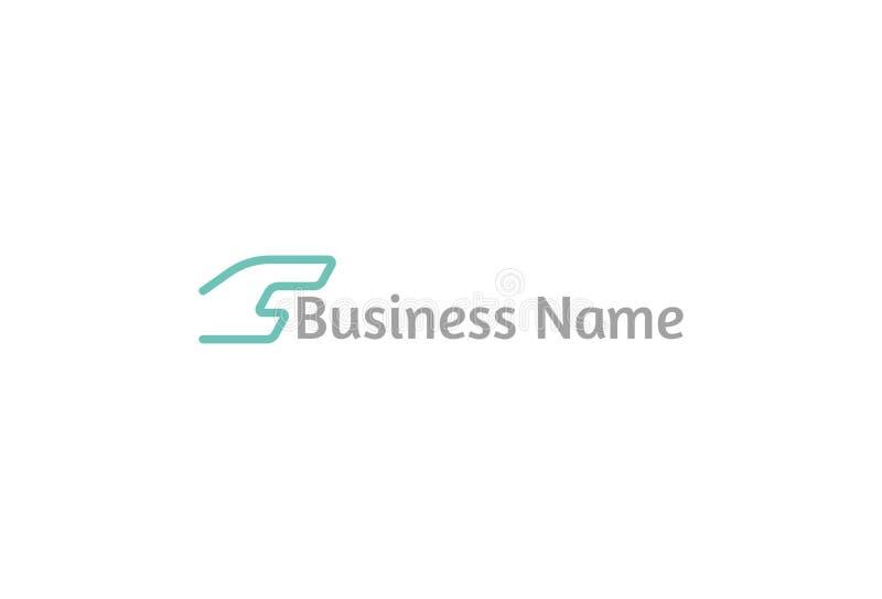 Illustration de vecteur de logo de C illustration libre de droits
