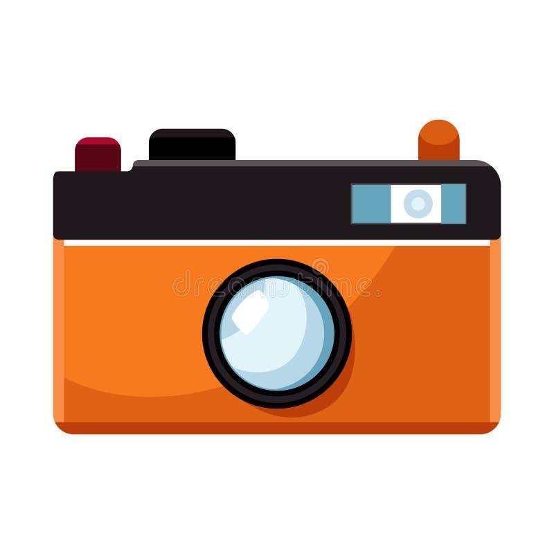 Illustration de vecteur de logo de caméra et de pixel Collection de caméra et de symbole boursier numérique pour le Web illustration stock
