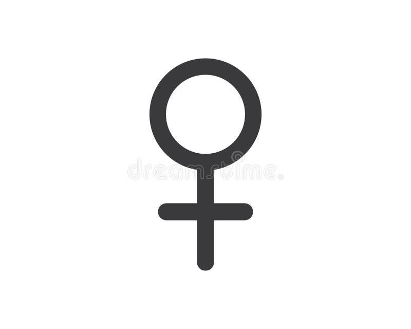 illustration de vecteur de logo d'icône de genre illustration stock
