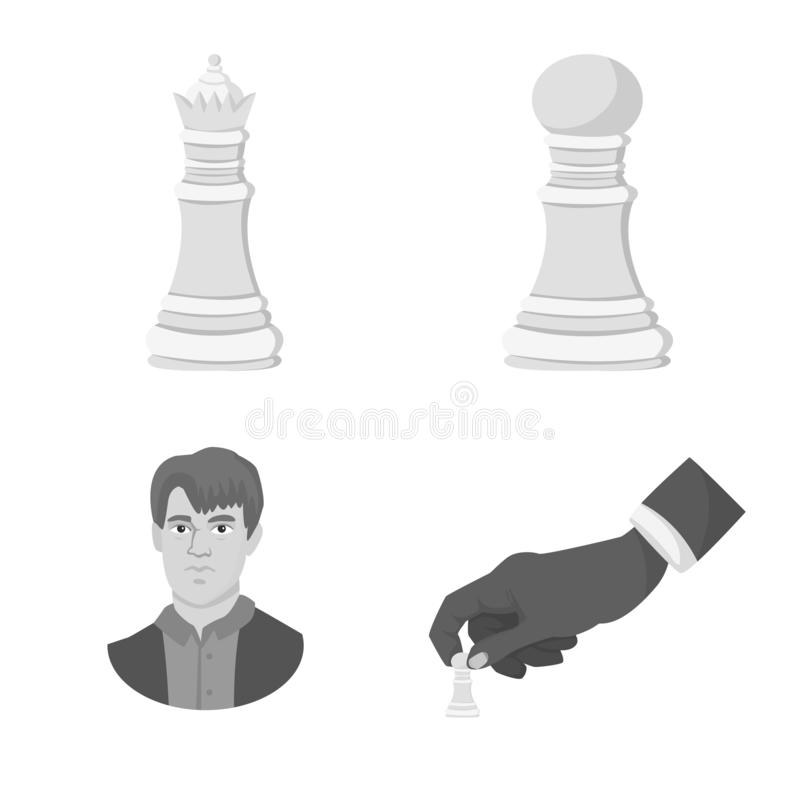 Illustration de vecteur de logo tactique et de jeu Collection d'ic?ne tactique et mince de vecteur pour des actions illustration stock